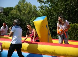 İzmir Şişme Basket Oyun Parkuru Kiralama