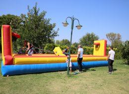Şişme Oyuncak ve Çekme Basket Oyun Parkuru Kiralama İzmir