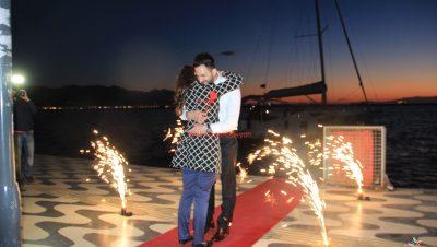 Pasaport Teknede Evlilik Teklifi İzmir Organizasyonu