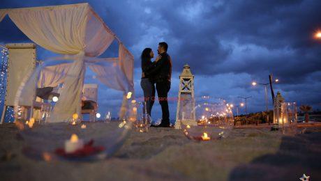 Deniz Kenarında Evlenme Teklifi Organizasyonu Romantik Dakikalar