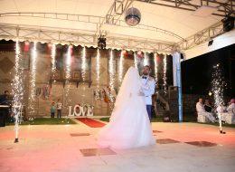 Düğün Organizasyonu Işık Şelalesi Kiralama İzmir