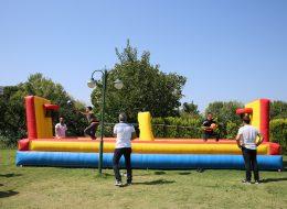 Çekme Basket Yarışı Oyun Parkuru Kiralama İzmir