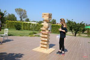 Piknik Organizasyonu Dev Jenga Oyunu Kiralama İzmir