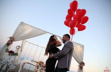 Ürkmez'de Evlenme Teklifi Organizasyonu