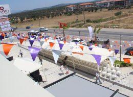 İzmir Üçgen Bayrak Süslemeleri