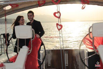 Levent Marina Evlilik Teklifi Organizasyonu