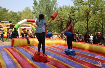 Şişme Gladyatör Oyun Parkuru Kiralama İzmir Organizasyon