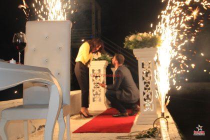 Tekne İci Susleme Teknede Evlilik Teklifi