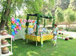 Şekerleme Masası Kurulumu İzmir Doğum Günü Organizasyonu