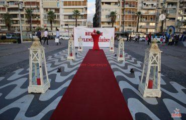 Kordon'da Evlilik Teklifi Organizasyonu Paketi İzmir Organizasyon