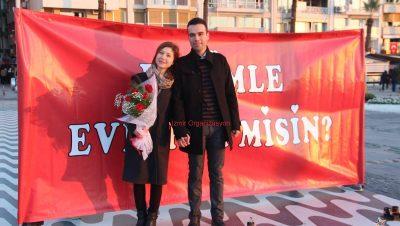 Kordon Evlilik Teklifi Organizasyonu İzmir ORganizasyon
