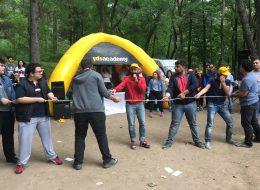 İzmir Piknik Organizasyonu Halat Çekme Yarışı