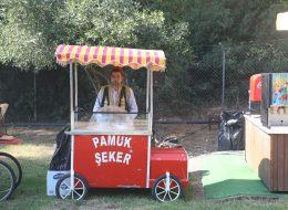 Piknik Organizasyonu Pamuk Şeker Dağıtımı ve Pamuk Şekerci Kiralama İzmir