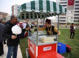 Pamuk Şekerci Arabası Kiralama İzmir Organizasyon