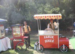 Piknik Organizasyonlarında Patlamış Mısırcı Kiralama Servisi İzmir Organizasyon