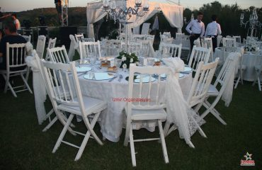 Sandalye Kiralama İzmir Organizasyon