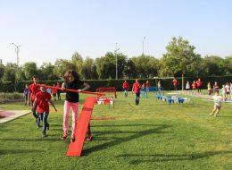 Survivor Temalı Bahçe Doğum Günü Organizasyonu İzmir Organizasyon