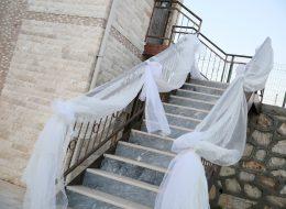 Beyaz Tül Süsleme İzmir Düğün Organizasyonu
