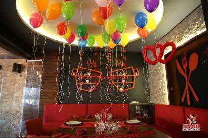 Uçan Balon Süsleme, Işıklı Balon, İzmir Organizasyon