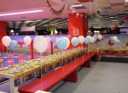Kız Çocuk Doğum Günü Partisi Uçan Balon Süsleme Servisi İzmir Organizasyon