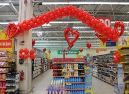 Uçan Balon Süsleme Servisi Avm Etkinlikleri İzmir Organizasyon