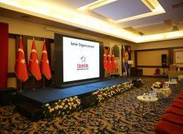 Led Ekran Kiralama ve Sahne Önü Çiçek Süsleme Açılış Organizasyonu İzmir