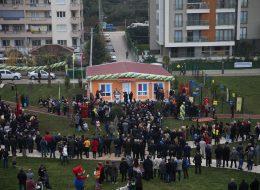 Protokol Katılımlı Açılış Organizasyonu Balon Süsleme ve Kürsü Kiralama