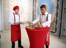 Catering Ekipmanları Kiralama ve Coffee Break İkramları Kokteylli Açılış Organizasyonu İzmir