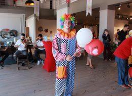 Baskılı Balon Dağıtımı ve Palyaço Kiralama Açılış Organizasyonu İzmir
