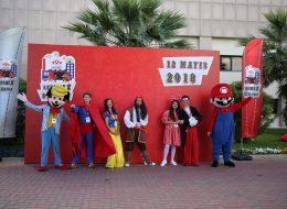 Kostümlü Karakterler ve Çizgi Film Maskotları Kiralama Açılış Organizasyonu İzmir