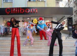 Tahta Bacak Gösterisi ve Palyaço Kiralama İzmir Açılış Organizasyonu