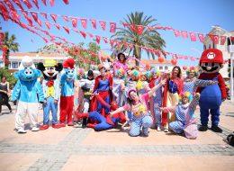Çizgi Film Maskotları Palyaço ve Kostümlü Karakterler Kiralama Açılış Organizasyonu İzmir