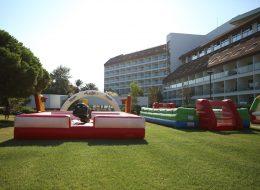 Yetişkin Şişme Oyun Parkurları Kiralama İzmir