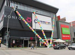 Firma Yıl Dönümü Organizasyonu Balon Süsleme İzmir