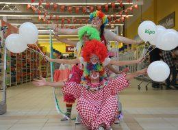 Mağaza Yıl Dönümü Etkinlikleri Baskılı Balon Temini ve Palyaço Kiralama