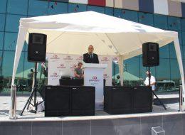 Ses Sistemi ve Profesyonel Sunucu Kiralama İzmir Açılış Organizasyonu
