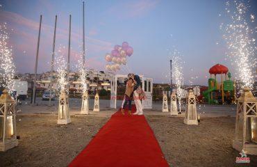Ahmetli Havai Fişek Gösterisi Ahmetli Yer Volkanı Ahmetli Işıklı Uçan Balon Temini İzmir Organizasyon