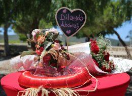 Romantik Evlilik Teklifi Organizasyonu Çiçek Buketi Temini Alaçatı
