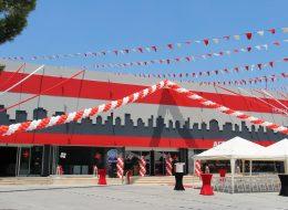 Protokol Katılımlı Açılış Organizasyonu Balon Süsleme ve Balon Standı Kiralama