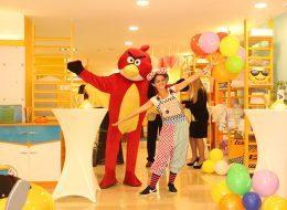 Palyaço Çizgi Film Maskotları ve Balon Standı Kiralama İzmir