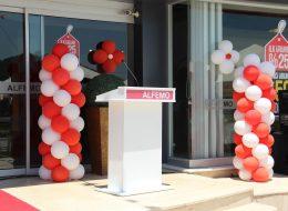 Papatya Balon Dikme Balon Süslemeleri İzmir