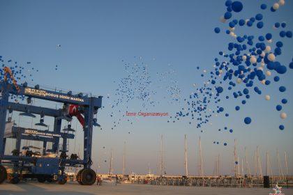Balon Yağmuru İzmir Organizasyon