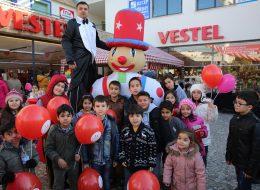 Açılış Organizasyonu Baskılı Balon Dağıtımı