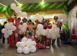 Avm Etkinlikleri Baskılı Balon ve Zincir Balon Süslemeleri