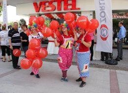 Baskılı Balon Dağıtımı Mağaza Promosyon Dönemi Organizasyonu İzmir