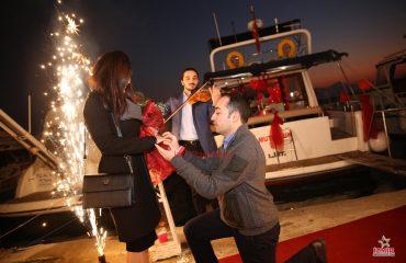 Bodrum Havai Fişek Gösterisi Bodrum Yer Volkanı Bodrum Işıklı Uçan Balon Servisi İzmir Organizasyon