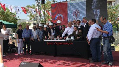 Bornova Belediyesi Temel Atma Töreni Organizasyonu İzmir Organizasyon