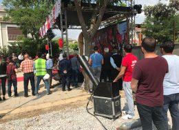 Temel Atma Töreni Organizasyonunda Gazlı Konfeti Atımı İzmir