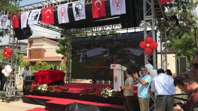 Bornova Çocuk Dünyası Temel Atma Töreni Organizasyonu İzmir