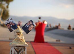 Bostanlı Deniz Kenarında Evlilik Teklifi Organizasyonu